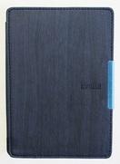 Обложка синяя Wooden magnetic для Kindle Paperwhite