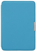Обложка Leather Cover для Kindle Paperwhite (голубой)