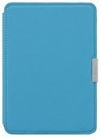 Обложка Leather Cover для Kindle Paperwhite (голубой) фото