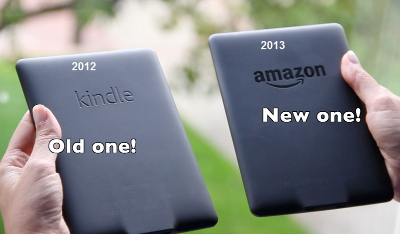paperwhite kindle 2013 ноывй